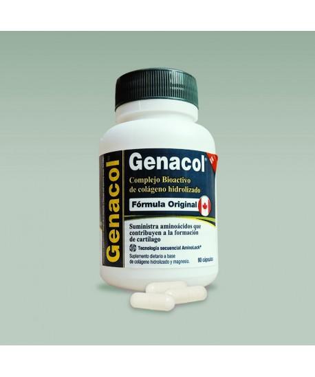 Genacol: Colágeno Hidrolizado en cápsula con Tecnología AminoLock
