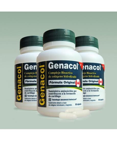 Genacol: Colágeno Hidrolizado en cápsula con Tecnología AminoLock x 3