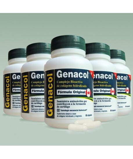 Genacol: Colágeno Hidrolizado en cápsula con Tecnología AminoLock x 6